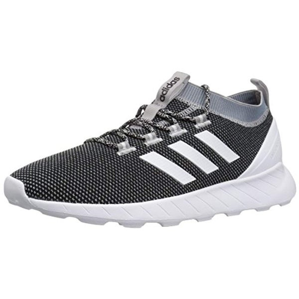 on sale c03c3 fba5c Shop Adidas Men s Questar Rise Running Shoe, Black White Raw Grey, 10 M Us  - Free Shipping Today - Overstock - 25977376