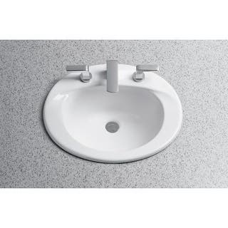Drop In Bathroom Sinks For Less Overstock Com
