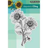 "Sunny Pair - Penny Black Cling Rubber Stamp 4""X6"" Sheet"