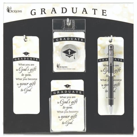 "13"" White and Black Graduate Display and Assortment Board"