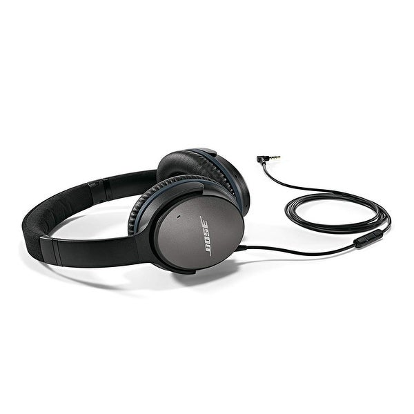 a12eda91334 Bose QuietComfort 25 Acoustic Noise Cancelling Headphones for Apple devices  - Black (wired, 3.5