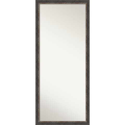 Bark Rustic Decorative Full Length Floor / Leaner Mirror