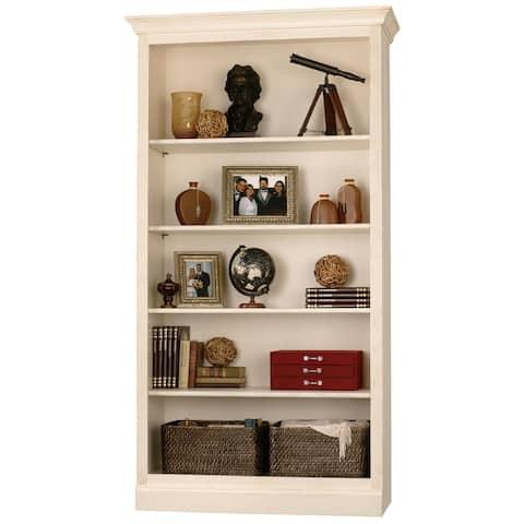 Home Storage Solutions Vanilla Wood 5-shelf Bookshelf