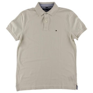 Tommy Hilfiger Mens cotton Ribbed Trim Polo