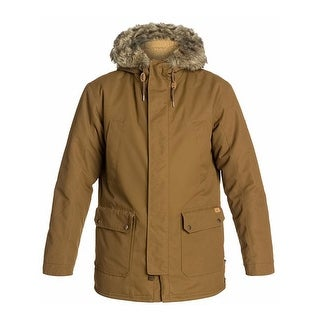 Link to Quiksilver Mens Ferris Parka Coat, brown, Large Similar Items in Men's Outerwear