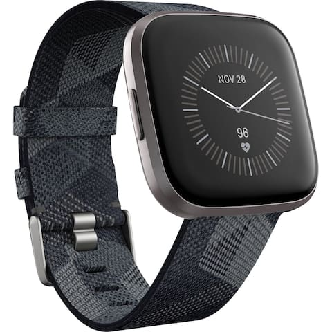 Fitbit Versa 2 Smoke Woven, B07TWFV51N - Smoke Woven