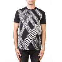 Versace Collection Men's Crew Neck Regular Fit T-Shirt Black