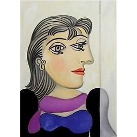 Buste de Femme au Foulard Mauve, Limited Edition, Lithograph, Pablo Picasso