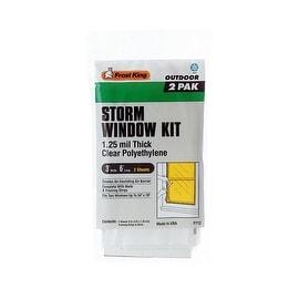 Frost King 2Pk 3X6 Storm Window Kit