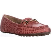Aerosoles Womens Drive Through Leather Closed Toe Loafers