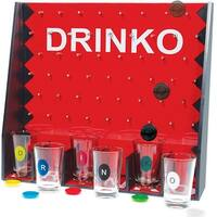 Palais Glassware Salle d'amusement - Room of Fun Shot Glass Collection (Drinko Game Set With 6 - 1 oz Shot Glasses)