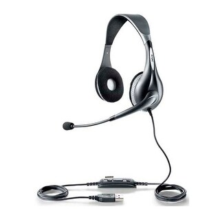 Jabra UC Voice 150 Duo Headset 1599-829-209 for Unified Communication Deployments