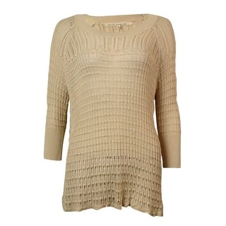 Rachel Roy Women's Flared Open Knit Sweater|https://ak1.ostkcdn.com/images/products/is/images/direct/431fa0d4986df5a9adf0ac56221261f049c5040b/Rachel-Roy-Women%27s-Flared-Open-Knit-Sweater.jpg?impolicy=medium