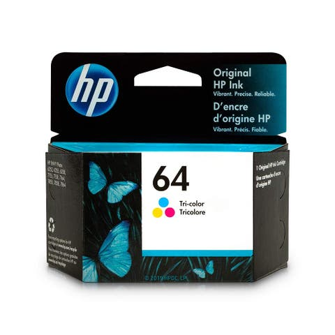 HP 64 Tri-Color Ink Cartridge N9J89AN