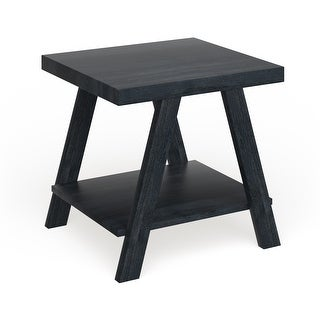 Link to The Gray Barn Cedar Ridge Contemporary Replicated Wood Shelf End Table Similar Items in Living Room Furniture