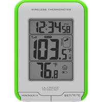 La Crosse Technology LCR3081410GRM La Crosse Technology 308-1410gr Digital Indoor-outdoor Thermometer