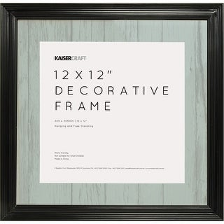 "Kaisercraft Frame 12""X12""-Black"