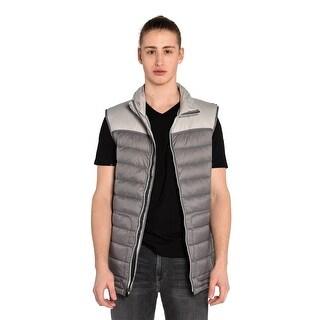 Asher Vest in Glacier Grey