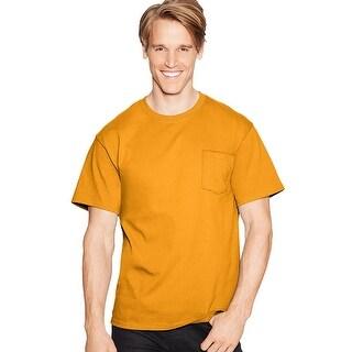 Hanes TAGLESS Pocket T-Shirt