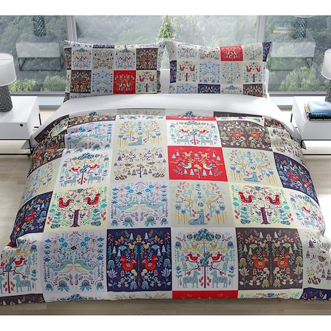 SCANDINAVIAN PATCHWORK Duvet Cover by Kavka Designs