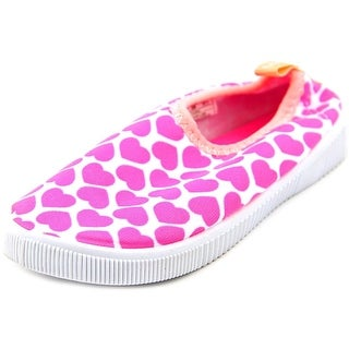Carter's Floatie-G Youth Round Toe Canvas Pink Loafer