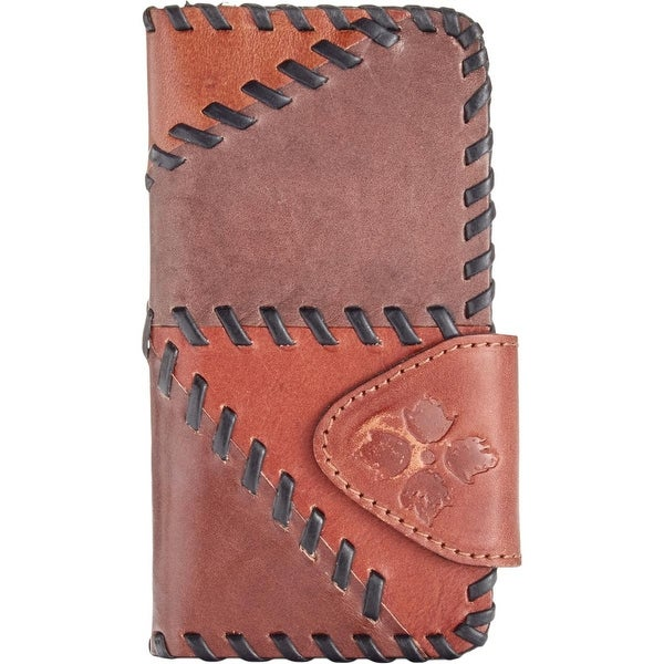 Patricia Nash Womens Fiona Card Case Leather Patchwork - o/s