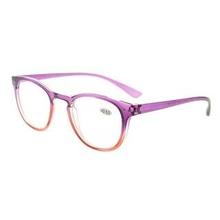 Eyekepper Fashion Readers Womens Reading Glasses (Purple-Red Frame, +1.50)