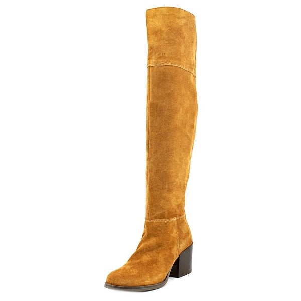 00b564ee24c Shop Steve Madden Orabela Round Toe Suede Over the Knee Boot - Free ...