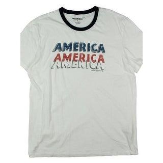 Denim & Supply Ralph Lauren Mens T-Shirt Printed Slogan