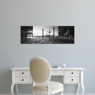 Easy Art Prints Panoramic Images's 'Saint Mark's Square, Venice, Italy' Premium Canvas Art