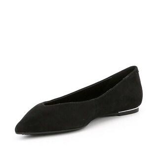 Michael Kors Womens Lizzy flat Closed Toe Ballet Flats