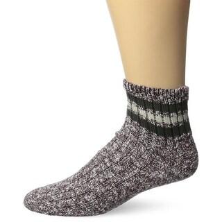 Wigwam Men's Mar-Lee Classic Ragg Textured Quarter Sock