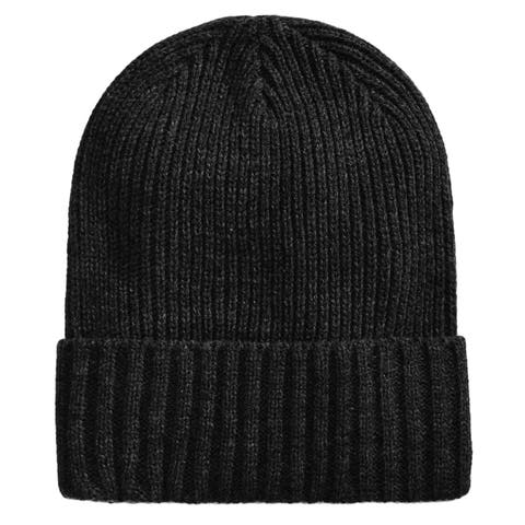 Club Room Mens Cuff Beanie Hat - One Size