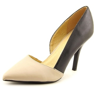 Chinese Laundry Z-sparks Women Pointed Toe Leather Heels