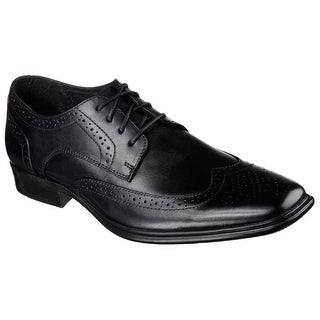 Skechers 68902 BLK Men's EVENTIDE Oxford
