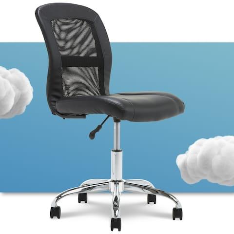 Serta Essentials Computer Chair, Black