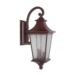 Jeremiah Lighting Z1374 Argent II 3 Light Outdoor Wall Sconce - 10 Inches Wide - aged bronze