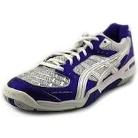 Asics Gel-Blade 4 Women Purple/White/Lightning Running Shoes