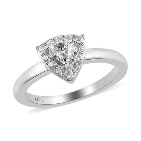 Halo Ring 925 Sterling Silver Moissanite Fine Women Jewelry For Gift