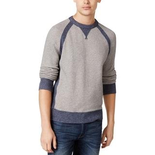 Tommy Hilfiger Mens Crew Sweatshirt Colorblock Long Sleeves