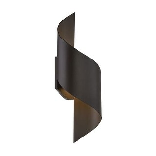 Modern Forms WS-W34524 Helix 1 Light LED Indoor / Outdoor Wall Sconce - 8.5 Inches Wide