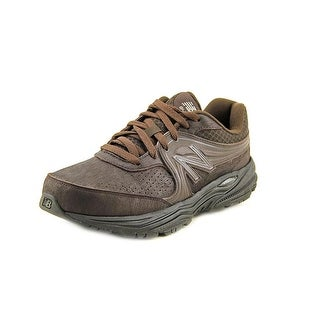 New Balance MW840 Men Round Toe Synthetic Brown Walking Shoe