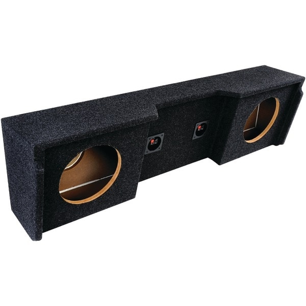 """Atrend A152-10Cp Bbox Series Subwoofer Boxes For Gm(R) Vehicles (10"""" Dual Downfire, Gm(R) Extended Cab)"""