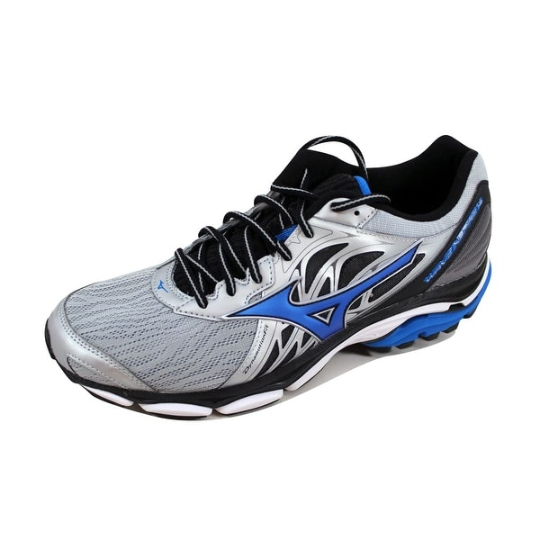 Mizuno Men's Wave Inspire 14 Silver/Blue J1GC184426
