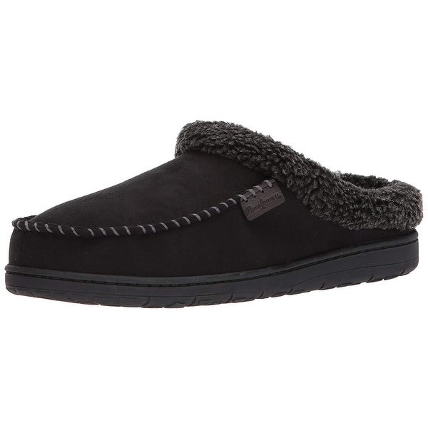 27bac32d877 Shop Dearfoams Men s Clog with Whipstitch and Mf Slipper - 13 - On ...