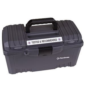 Flambeau 6518FH Utility/Tool Box with Lift-Out Tray, Gray|https://ak1.ostkcdn.com/images/products/is/images/direct/433062b5e158b0e4564f65458a32b144b05af69f/Flambeau-6518FH-Utility-Tool-Box-with-Lift-Out-Tray%2C-Gray.jpg?impolicy=medium