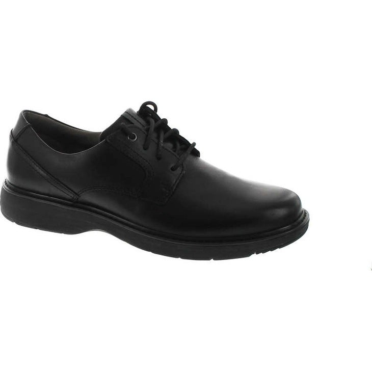 top style moderate cost beauty Clarks Men's Cushox Pace Oxford - Black Leather