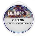 Beadsmith Opelon Floss Stretch Bead Cord - Make Stretchy Bracelets Fast - 82 ft. - Thumbnail 0