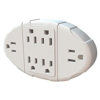Stanley Grounded Indoor 6-Outlet Wall Adapter with Transformer Outlets - White https://ak1.ostkcdn.com/images/products/is/images/direct/4330e327751275c5dd45c042a771cdf7d307a934/Stanley-Grounded-Indoor-6-Outlet-Wall-Adapter-with-Transformer-Outlets.jpg?_ostk_perf_=percv&impolicy=medium