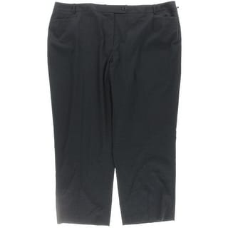 Calvin Klein Womens Plus Dress Pants Modern Fit Office - 24W
